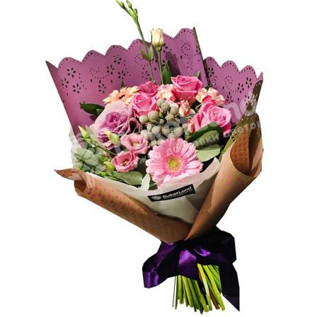 Букет цветов «Италия» фото