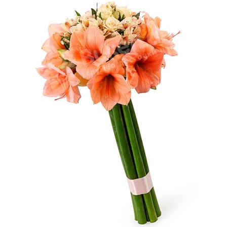 Букет цветов «Космополитен» фото