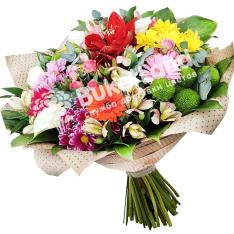 Букет квітів «Літній день» фото
