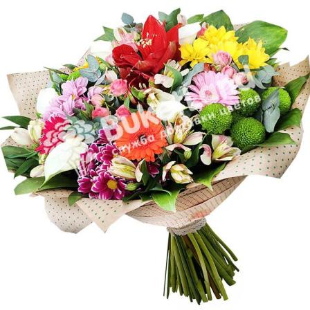 Букет цветов «Летний день» фото