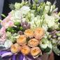 Квіти в шляпной коробці «Левітація» фото