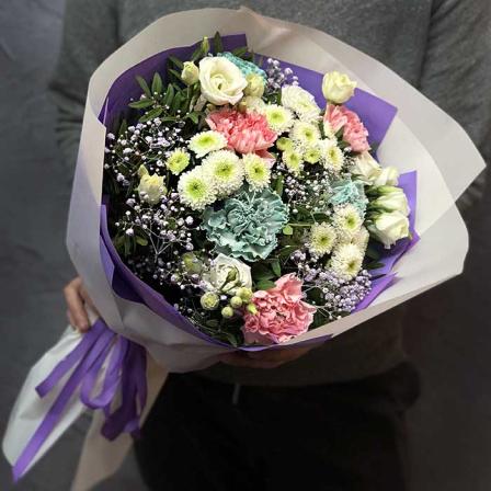 Букет цветов «Лили» фото
