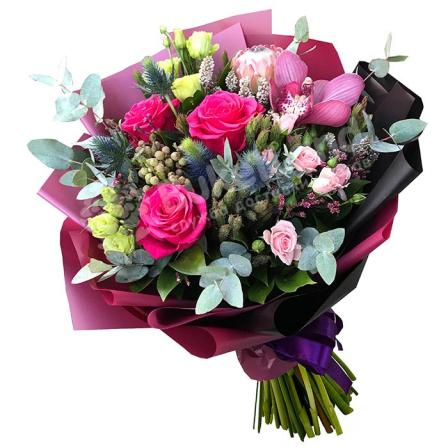 Букет цветов «Лунная соната»