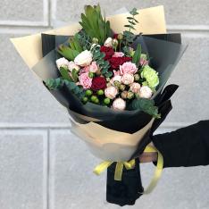 Букет цветов «Маргарет» фото