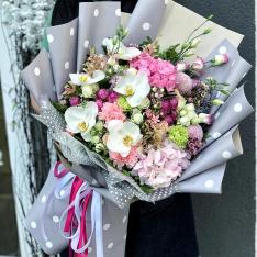 Букет цветов  «Марсель» фото