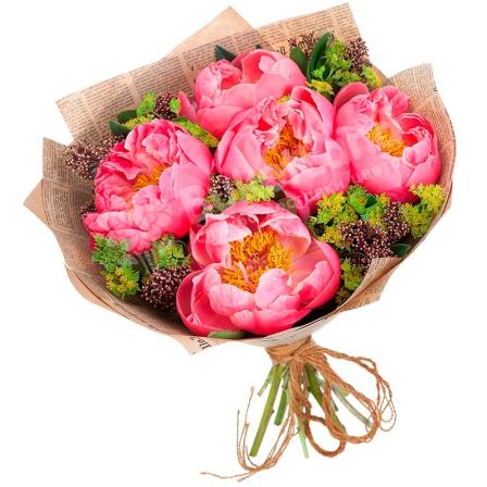 Букет цветов «Миллениум» фото