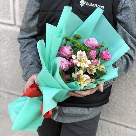 Букет квітів «Три крапки»