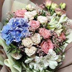 Букет цветов «Музыка любви» фото