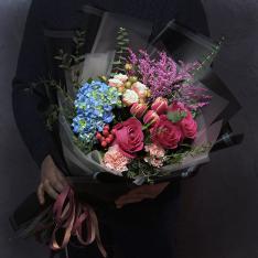 Букет цветов «Мысли о тебе» фото