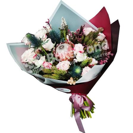 Букет цветов «Натали» фото