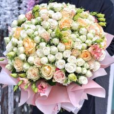Букет цветов  «Облако счастья» фото