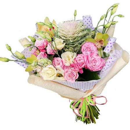 Букет цветов «Палитра»