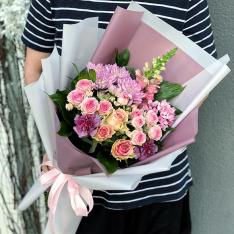 Букет цветов  «Палитра» фото