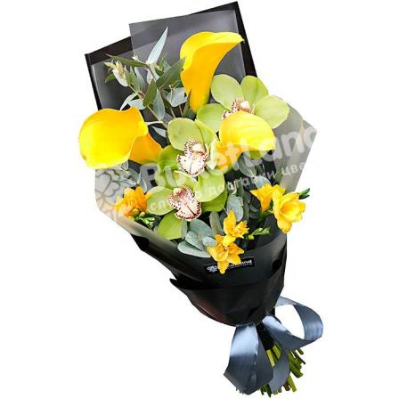 Букет цветов «Пассаж» фото