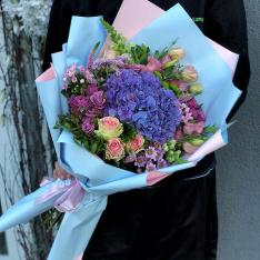 Букет цветов «Первое свидание» фото