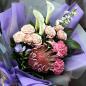 Букет цветов «Преданность» фото