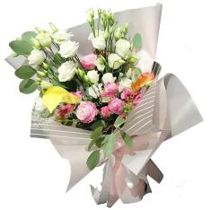 Букет цветов «Прекрасное мгновение» фото