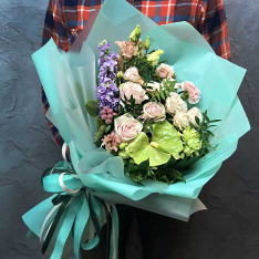 Букет цветов «Принцесса Анна» фото