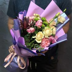 Букет цветов «Проявление Чувства» фото