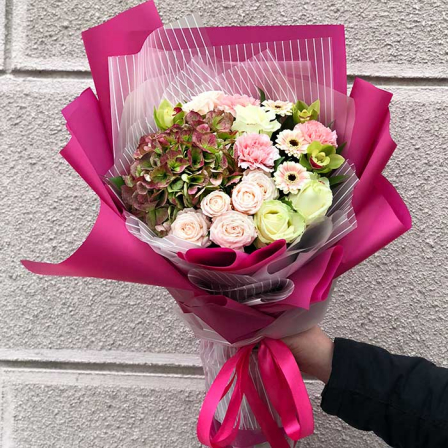 Букет цветов «Радость» фото