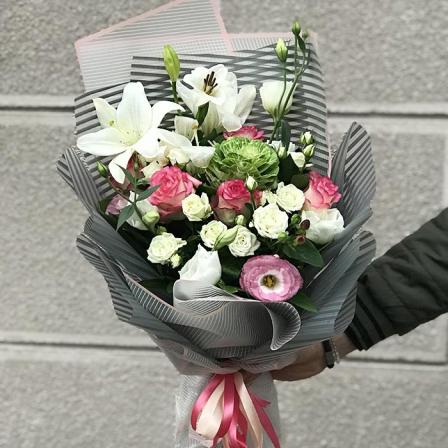 Букет квітів «Радісний день» фото