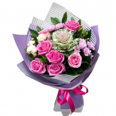 Букет цветов «Рандеву» фото