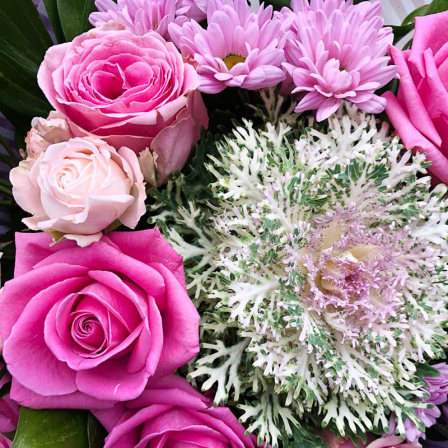 "Bouquet of flowers ""Rendezvous"" photo"