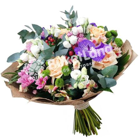 Букет цветов «Райское наслаждение» фото