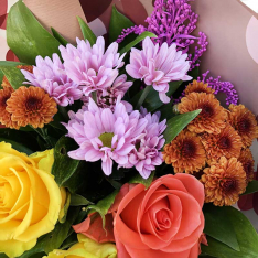 "Bouquet of flowers ""Romance"" photo"