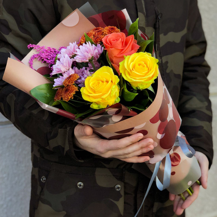 Букет квітів «Романтика» фото