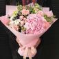 Букет цветов «Румянец» фото