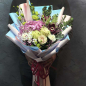 Букет цветов «Сахарные сны» фото