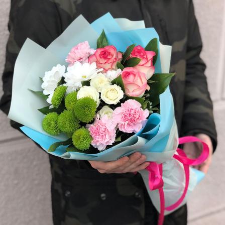 Букет цветов «Сан-Ремо» фото