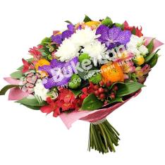 Букет цветов «Счастливая встреча» фото