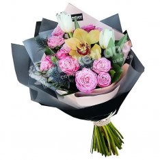 Букет цветов «Седьмое небо» фото