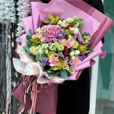 Букет цветов  «Серенада» фото