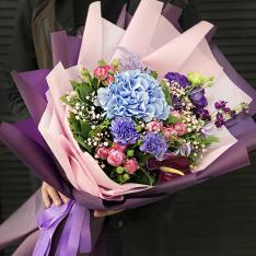 Букет цветов «Шанталь» фото