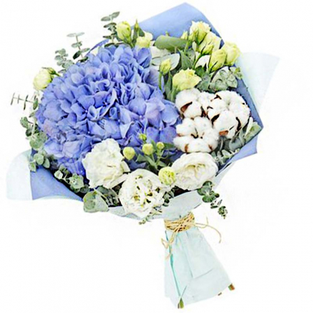 "Bouquet of flowers ""Chantal"" photo"