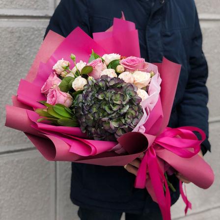 Букет цветов «Шервуд» фото