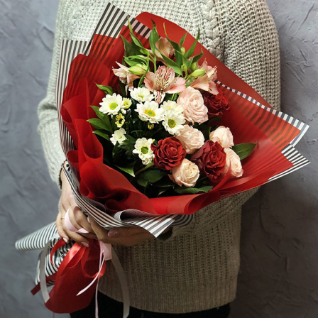 Букет квітів «Казковий» фото