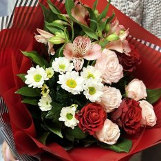 "Bouquet of flowers ""Fabulous"" photo"