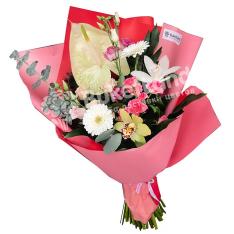 Букет цветов «Стихия желаний» фото