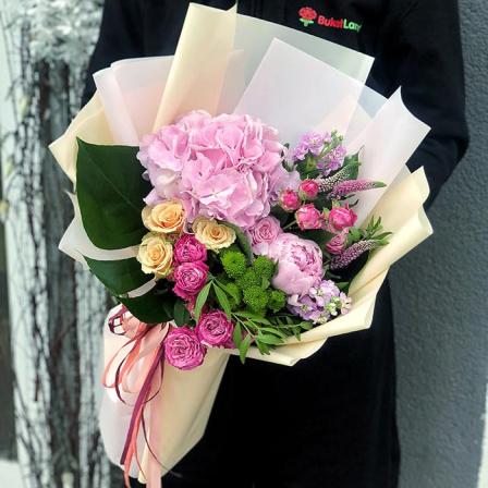 Букет квітів «Таїті»