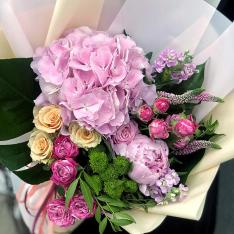Букет цветов  «Таити» фото
