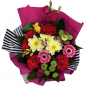 Букет цветов «Тайна» фото