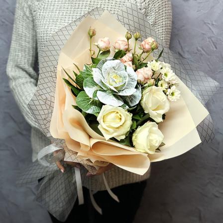 Букет квітів «Торжество» фото