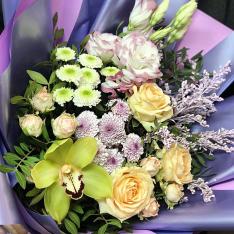 Букет цветов «Улыбка» фото