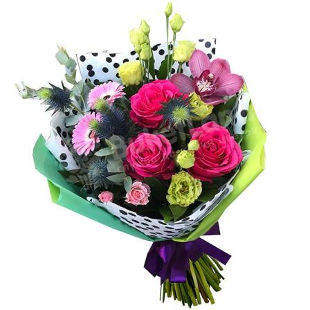 Букет цветов «Утро в Париже» фото