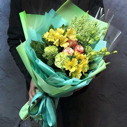 Букет цветов «Виртуоз» фото
