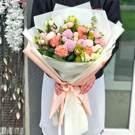 Букет квітів «Закохайся в мене»